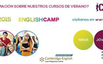 SUMMER ENGLISH CAMP 2015, cursos de verano para disfrutar y aprender