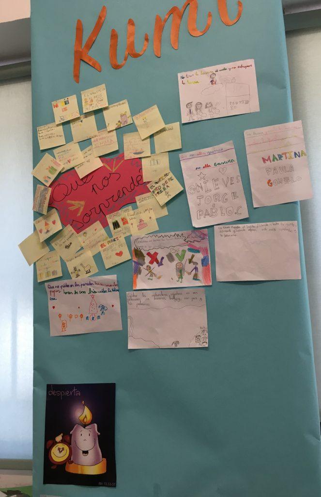 Proyecto KUMI en Educación Primaria en el Colegio Virgen del Carmen de Córdoba (Carmelitas Descalzos)